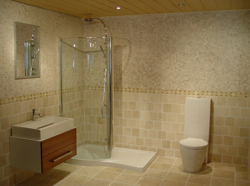 7 Hottest bathroom ceramic tile design ideas: Ceramic Small Bathroom Wall  Tile