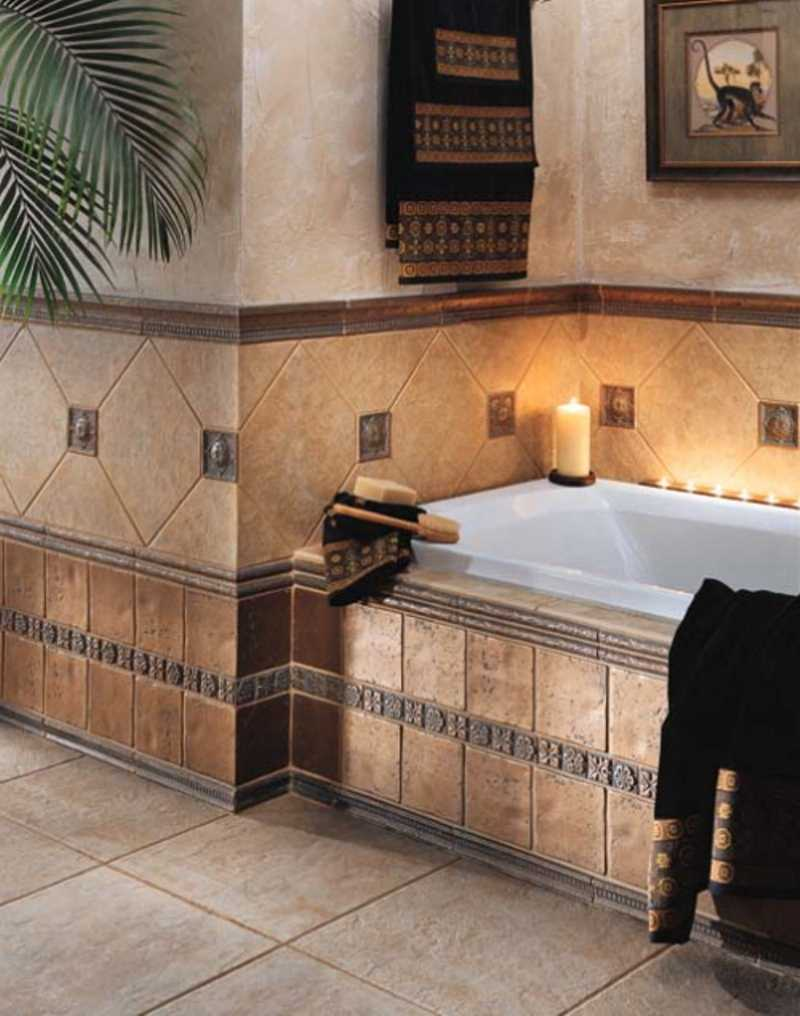 ceramic ceramic tile design ideas - Tile Bathroom Designs