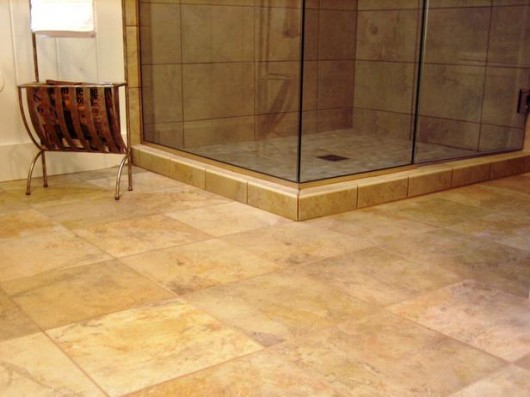 8 Awesome Bathroom Tile Flooring Designs