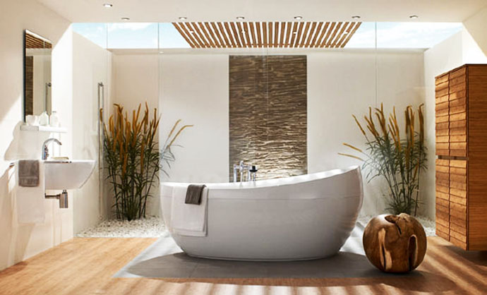 8 Beautiful Bathroom Design Products: Ideas Of Bathroom Design With Natural  Influences