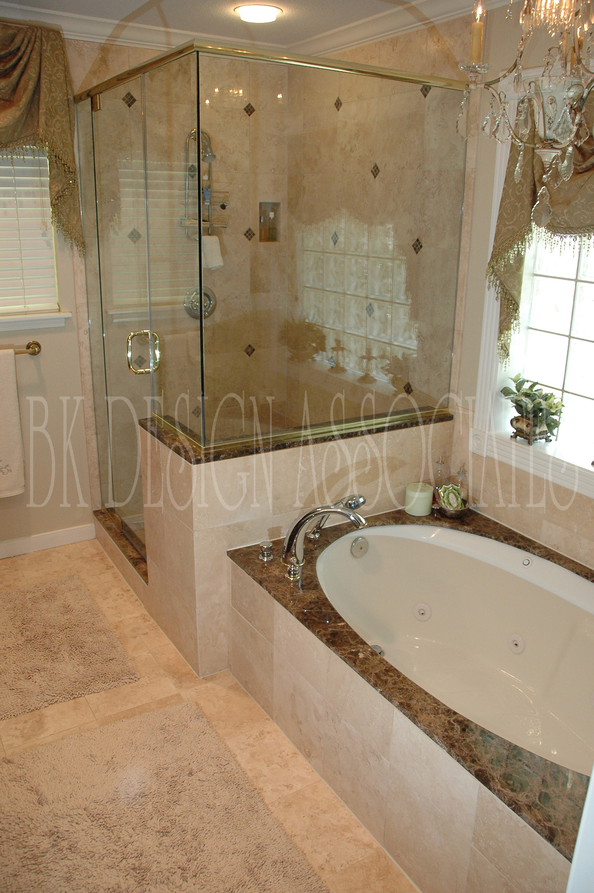 Master Bath Shower EwdInteriors