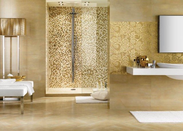 photo gallery of the mosaic bathroom design ideas
