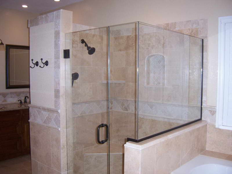 8 top rated bathroom glass tile designs shower tile design ideas - Shower Designs Ideas