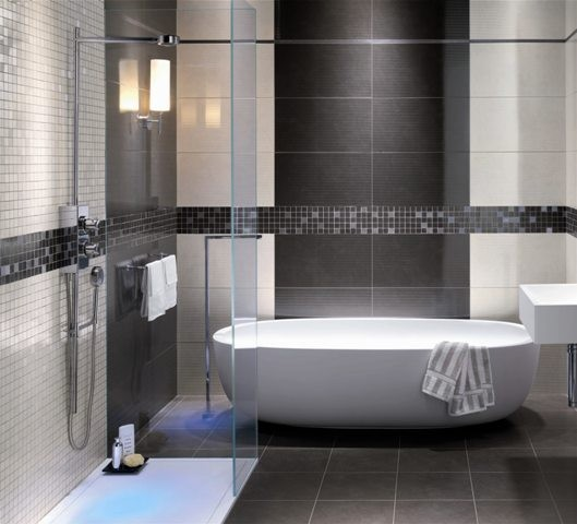 8 Ultimate Contemporary Bathroom Tile Designs