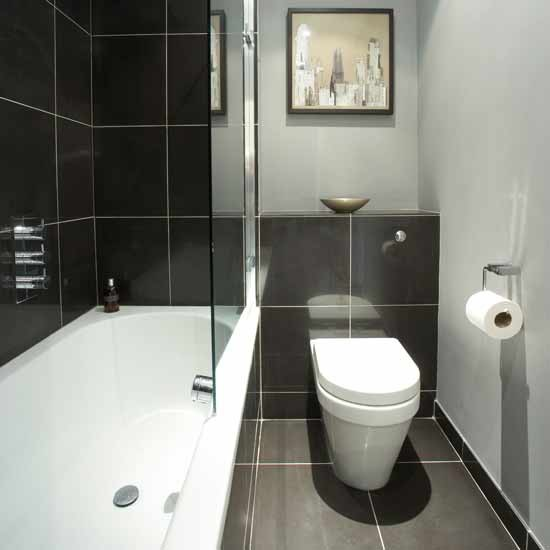 Photo Gallery Of The Some Effective Black And White Bathroom Ideas