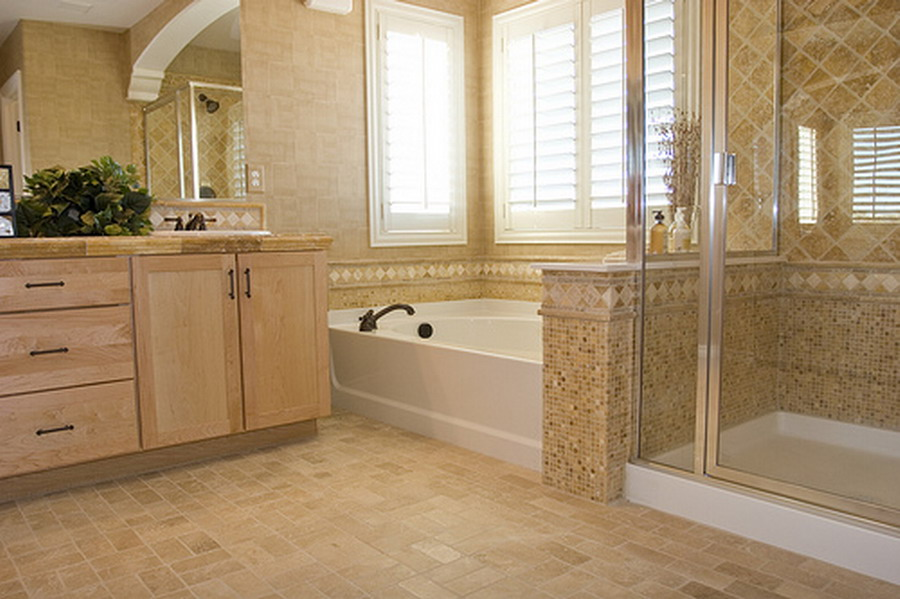 6 photos of the 6 gorgeous simple bathroom tile designs - Tile Bathroom Designs