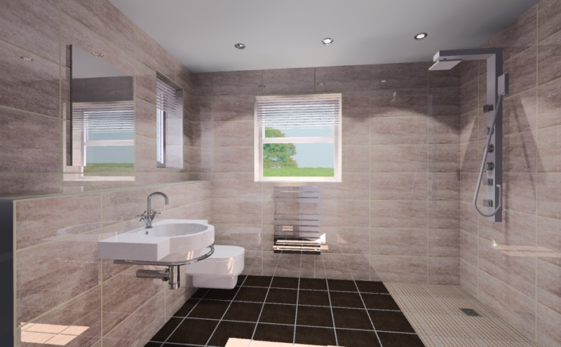 New Bathroom Design EwdInteriors