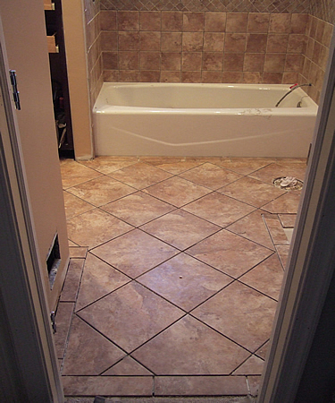 7 fabulous bathroom floor tile design. Bathroom Floor Tile  Creamgrey Bathroom Floor    Private Retreat