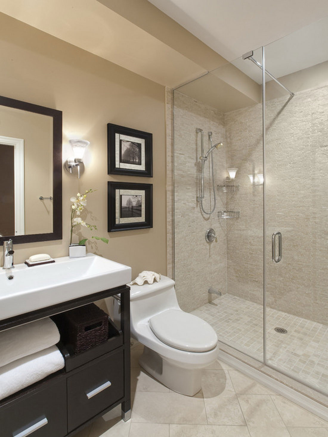 Charmant 9 Photos Of The 9 Top Notch Contemporary Small Bathroom Design