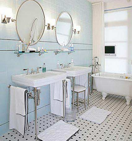 7 Fabulous Bathroom Floor Tile Design: Bathroom