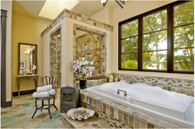 8 Charming Tuscan Bathroom Designs: Design Ideas Tuscan Bathroom