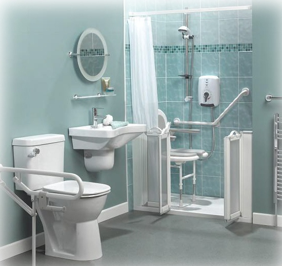 Photo Gallery Of The Beautiful Disabled Bathroom Design