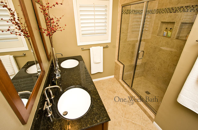 Fascinating galley bathroom ideas best ideas interior for Galley style bathroom