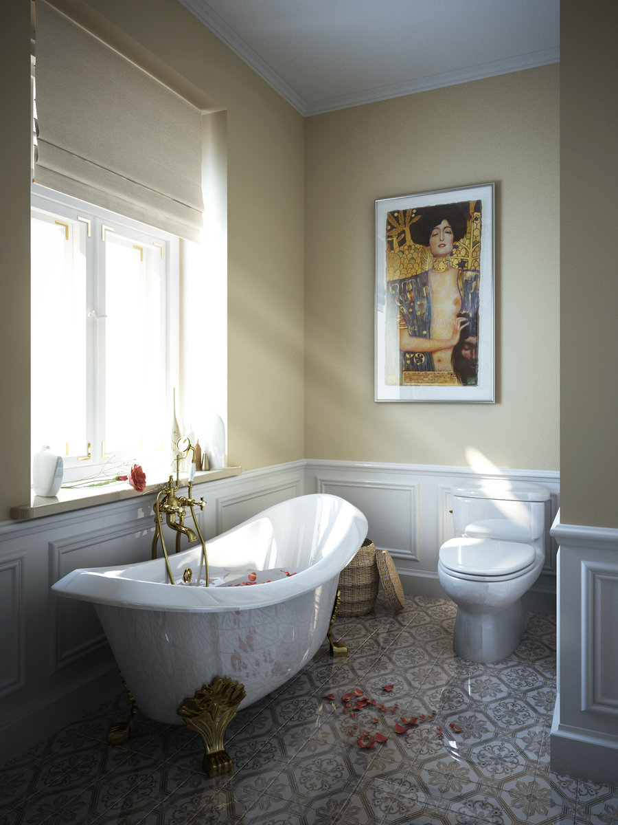 6 Photos Of The 6 Top Clawfoot Tub Bathroom Design Ideas