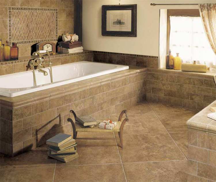 Photo Gallery Of The Mosaic Bathroom Tile Flooring Part 93