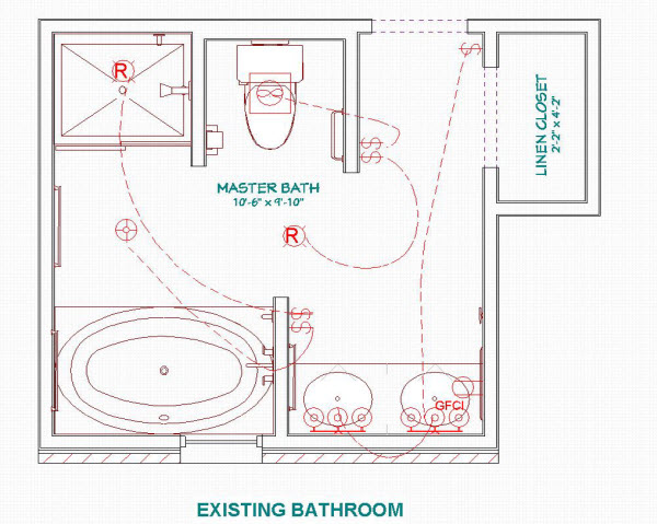 8 lovely bathroom design layouts