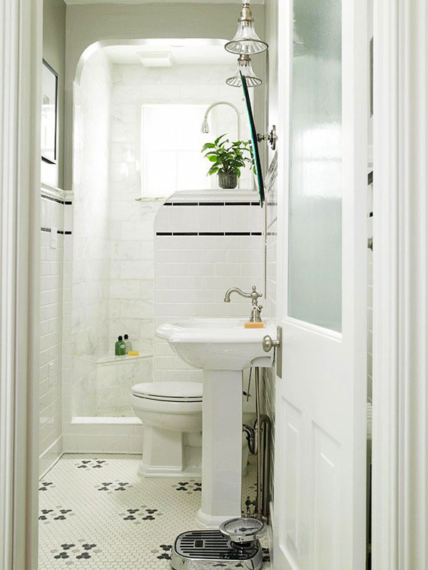 tiny bathroom design : EwdInteriors