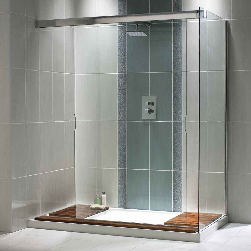 Simple bathrooms with shower - Photo Gallery Of The Simple Bathroom