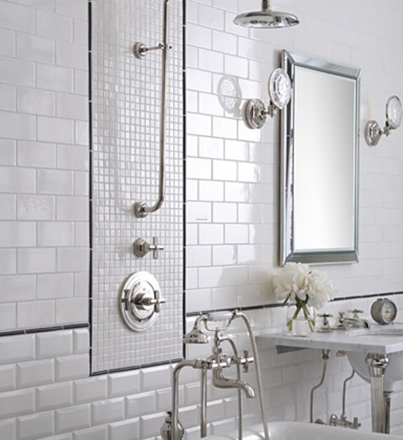 6 Photos Of The 6 Charming Traditional Bathroom Tile Designs