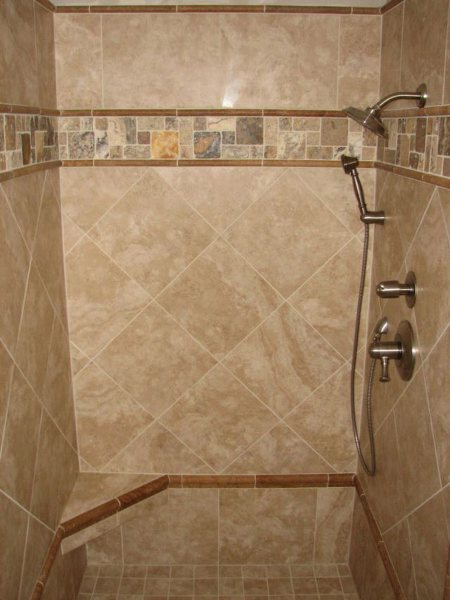 Ceramic Tile Bathroom Designs : EwdInteriors