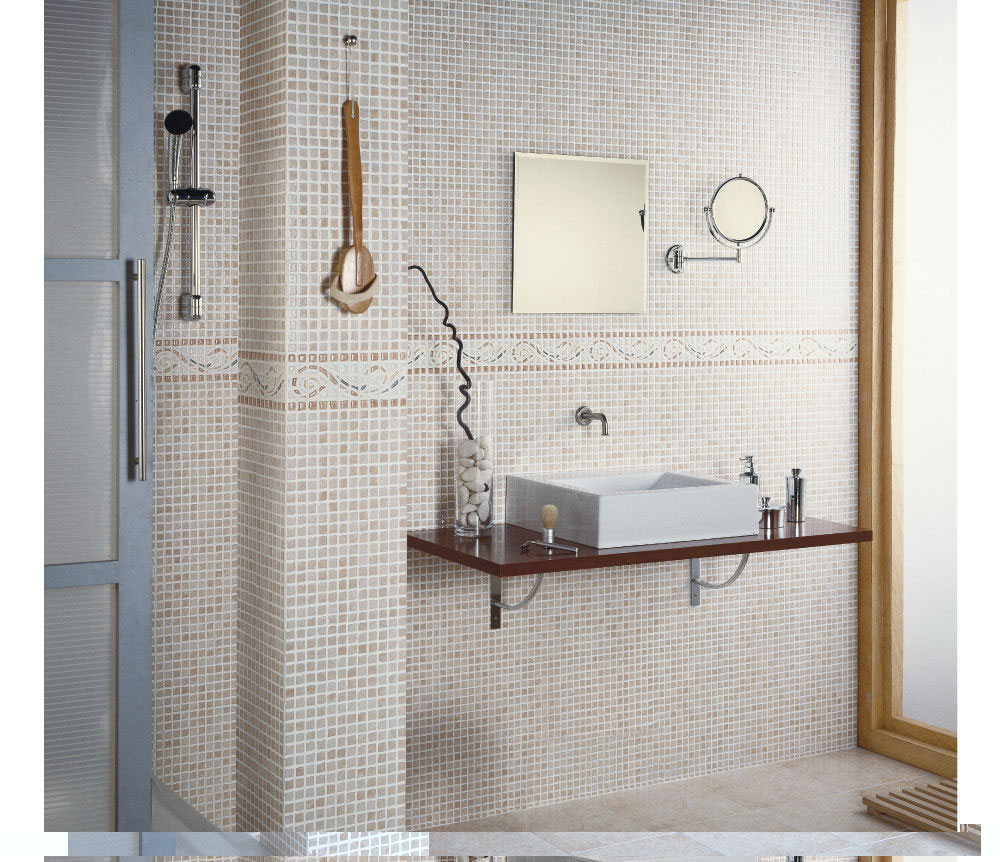 Tile Modern Bathroom Design : EwdInteriors