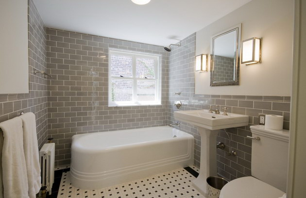 photo gallery of the traditional bathroom tiles - Traditional Bathroom Tile Designs