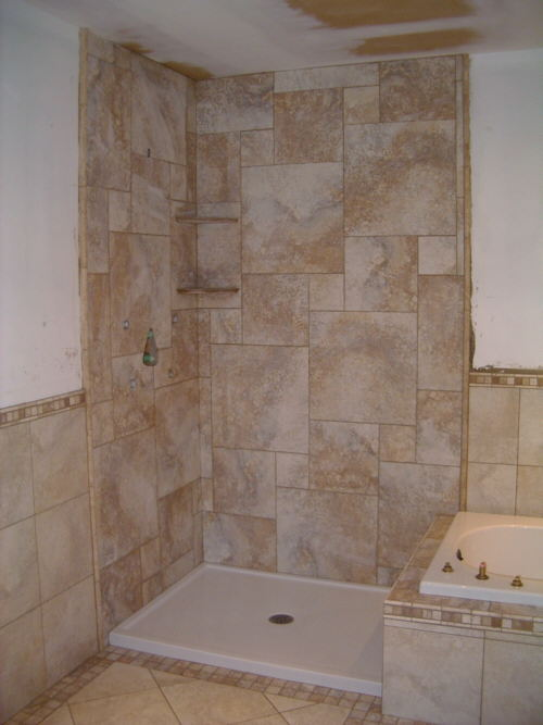 Bathroom Shower Tile Photos tile bathroom remodel shower design ideas : ewdinteriors