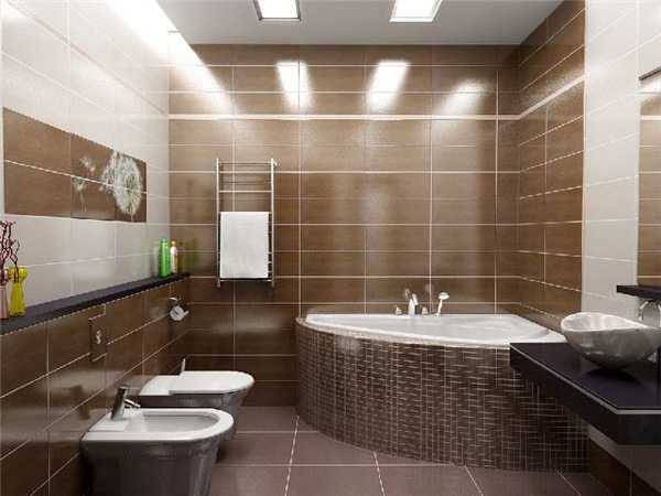 5 Ideal bathroom tiled walls design ideas: Mosaic Wall Tiles .