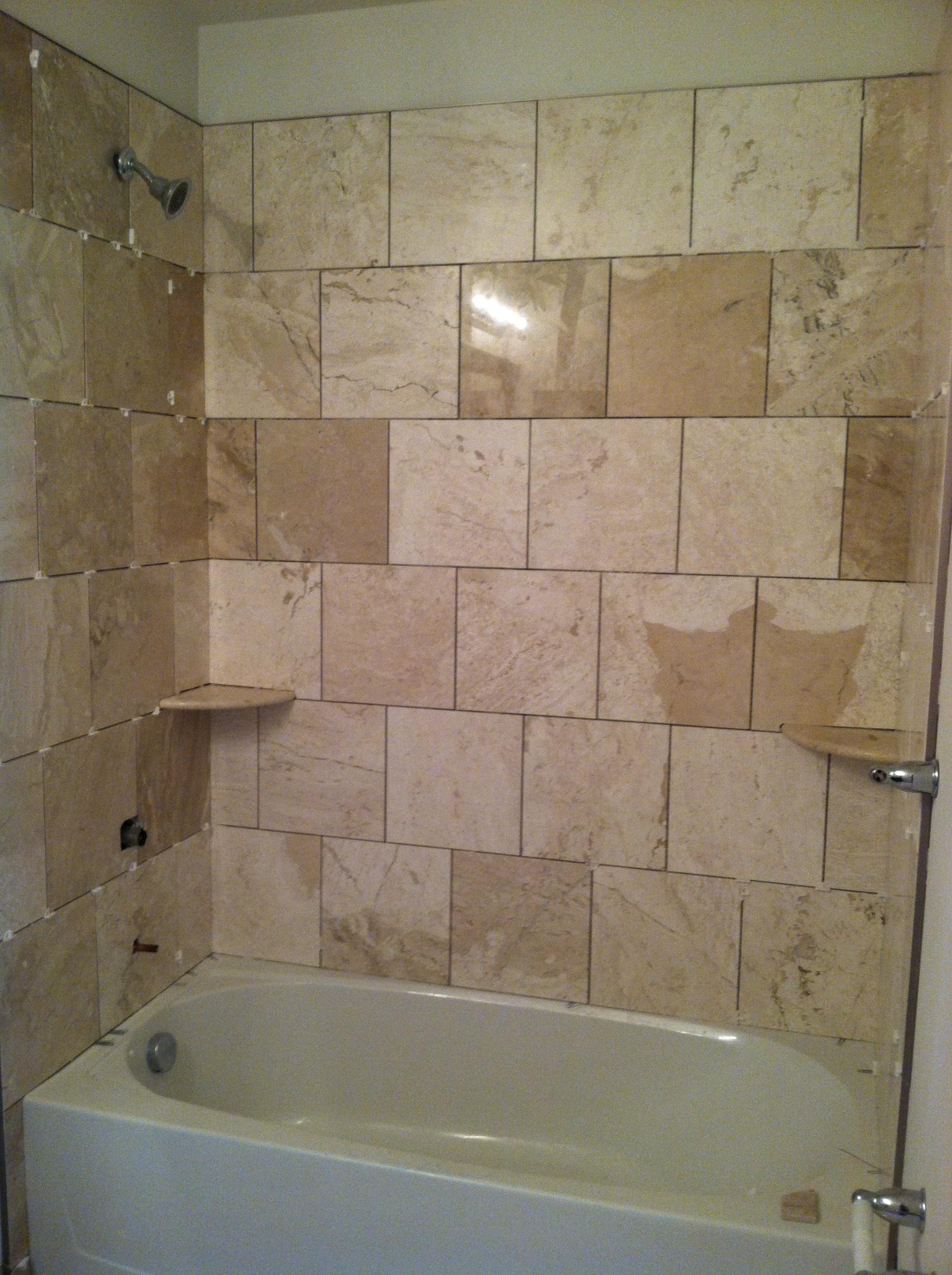 Tile Bathroom Remodel Shower Design Ideas Ewdinteriors