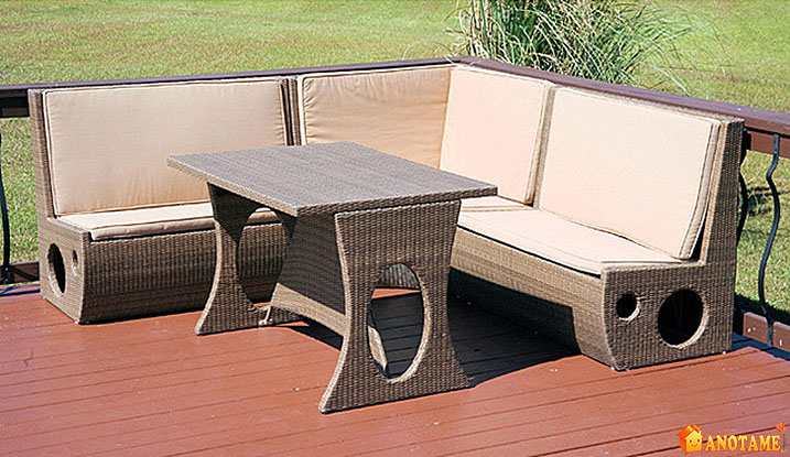 inexpensive patio furniture
