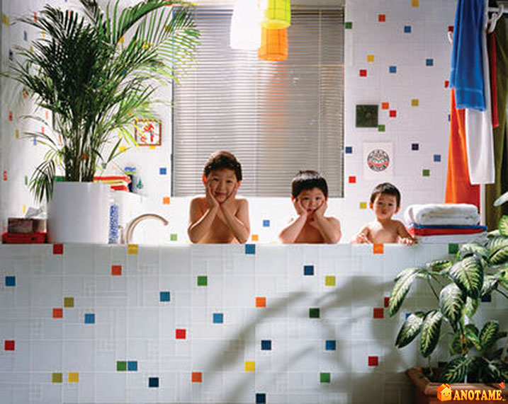 kids bathroom tile ideas