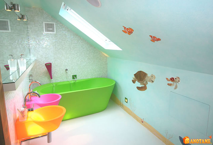 unisex kids bathroom ideas