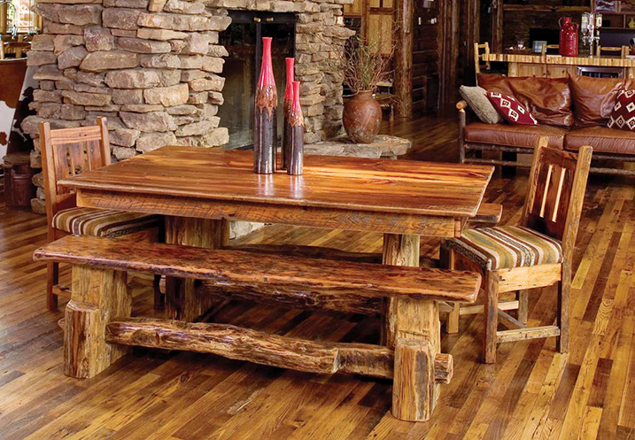 Photo Gallery Of The Waller Rustic Furniture