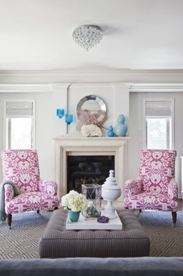 The Excellent Images Below, Is Segment Of Bold Color Combo Pink U0026 Teal  Write Up Which Is Categorized Within How To, Teal Color, Home, Upholstery  And ...