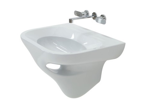 Ceramica Flaminia New Void Washbasin And Bidet Designed By Fabio Novembre