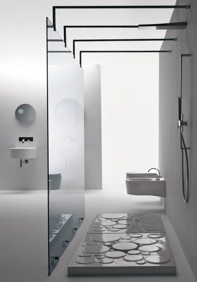 Through The Games Of The Graphic Elements, A Modern Stream Bed Is Born From  The Optical Rectangular Shower Tray. This Shower Tray Comes With Various  Sizes ...