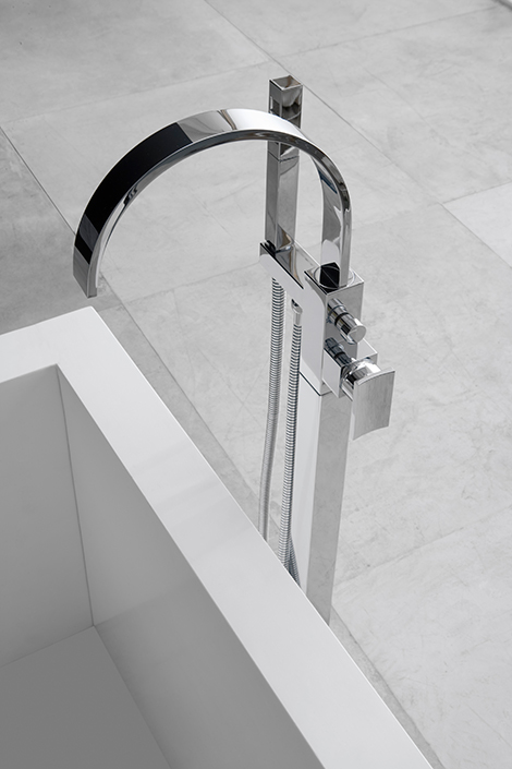 Floor Mounted Tub Faucet Graff : EwdInteriors