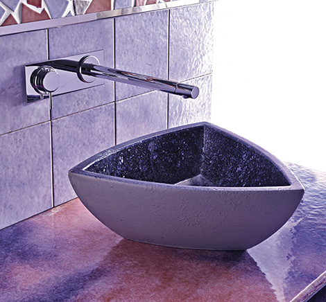 Isnt It Amazing What Can Be Accomplished With Modern Ceramic Tiles Check Out These Purple Bathrooms And More Tile Ideas At Franco Pecchioli
