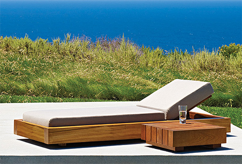 6 Photos Of The Solid Teak Wood Outdoor Furniture By Marmol Radziner For  Danao