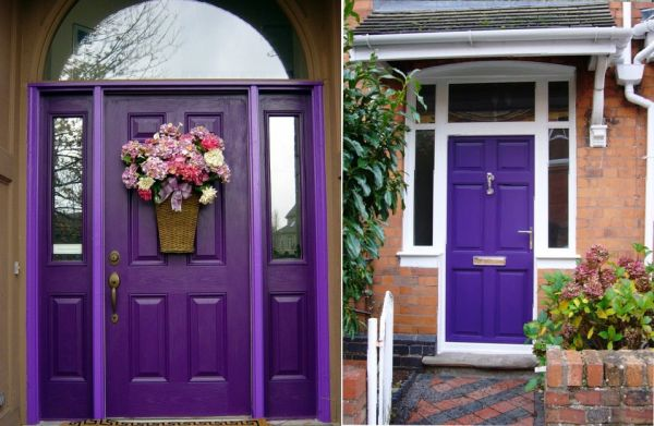 Photo Gallery Of The Pink Front Door